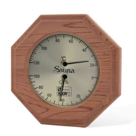 đồng hồ nhiệt kế phòng xông