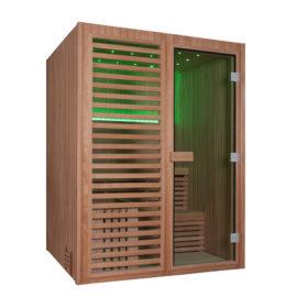 phòng xông khô gỗ Canada 3