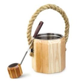 xô gáo gỗ phòng xông